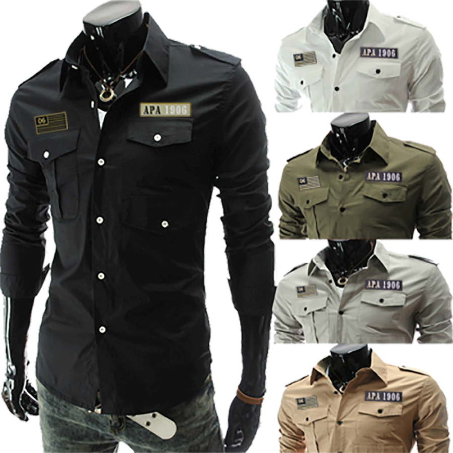 Alpha Force Military Style Shirt