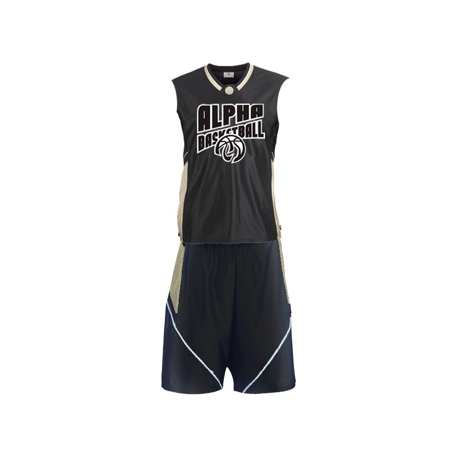 Alpha Basketball Sleeveless Jersey